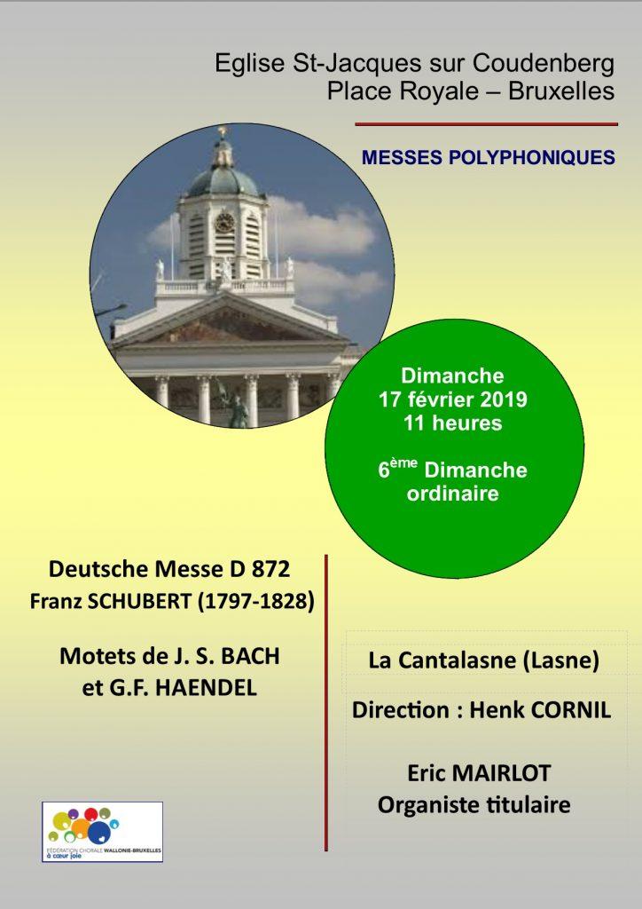 Deutsche Messe Schubert D872_février 2019
