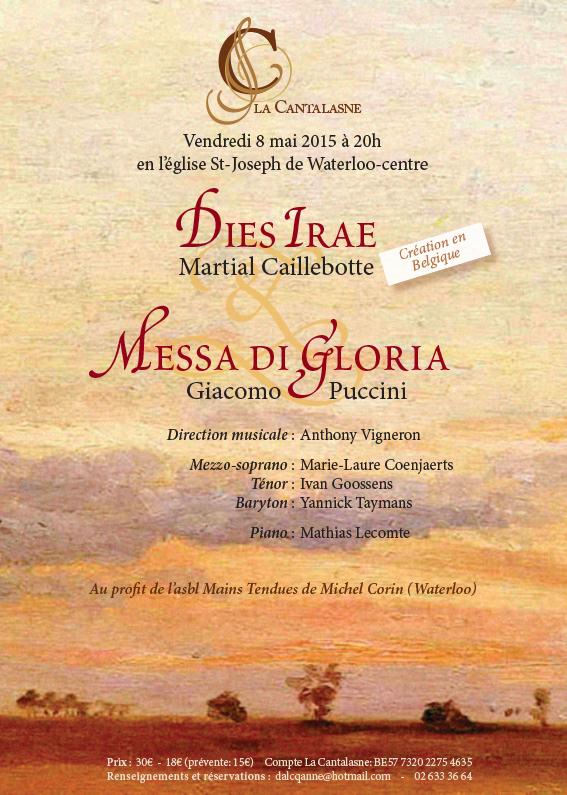 Concert Caillebotte, Dies Irae et Messa di Gloria