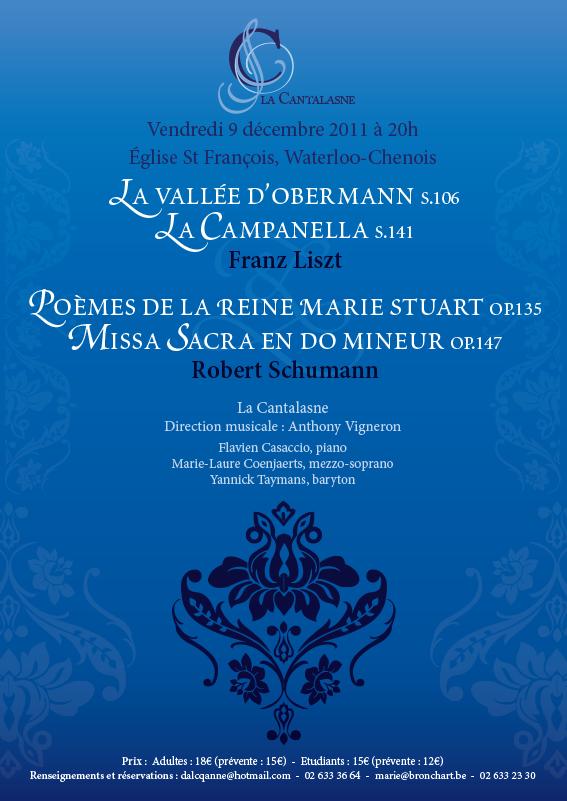 Concert romantique par La Cantalasne
